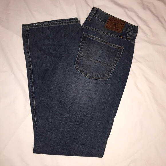 Lucky Brand 181 Men/'s Relaxed Fit Straight Leg Jeans NWOT 32X32 Brand New